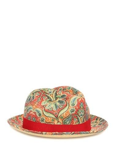 Etro Şapka Kırmızı